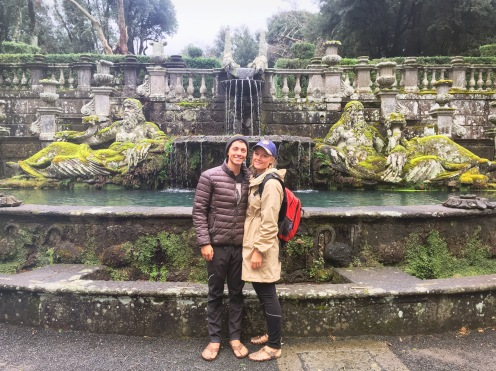 Gardens in Bagnaia