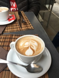 Cappuccino in Florence, yummm