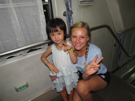 Little Chinese girl wanted to take a picture, So cute