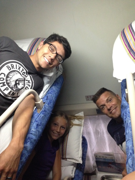 bunk bed sleeper train