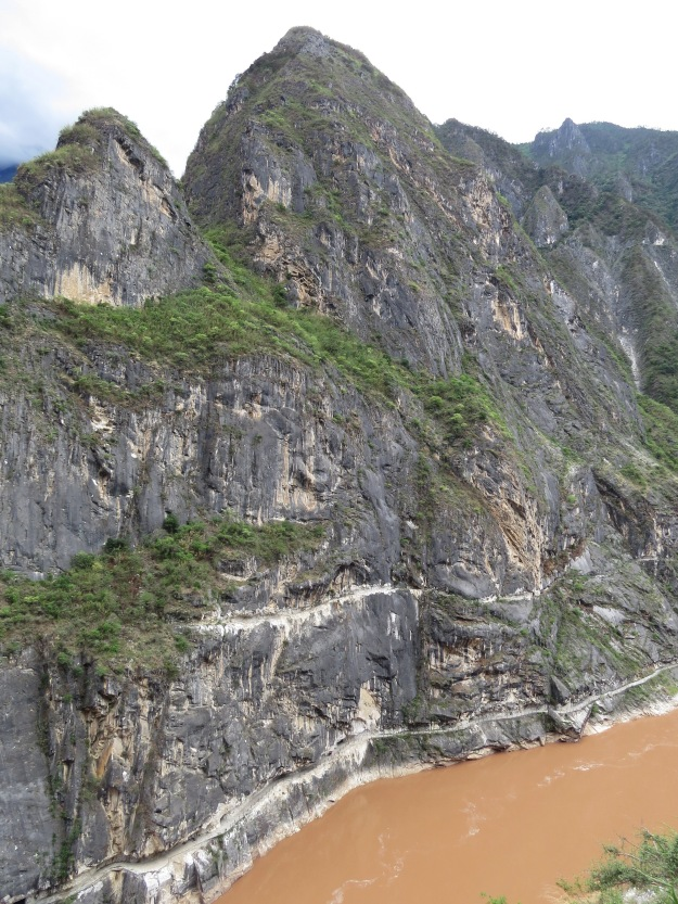 Tiger Leaping Gorge and the Yangtze River