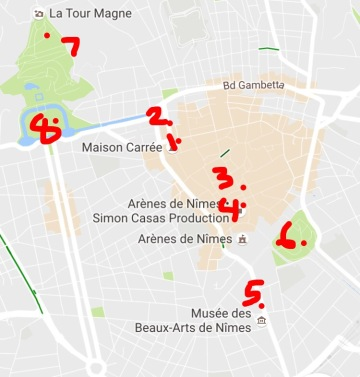 What To See Where To Go In Nimes France Flying Mountain Goats